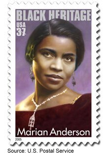 Marian Anderson Stamp