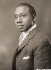 Sepia colored photograph of American music composer and conductor Robert Nathaniel Dett (1882 - 1943), early 20th century. (Photo by Stock Montage/Getty Images)